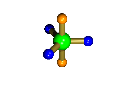 trigonal bipyramidal structure adopted by PF5