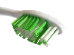 a toothbrush
